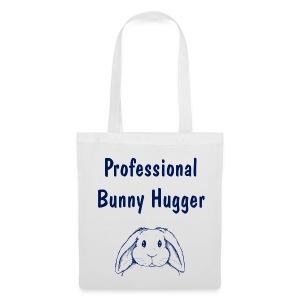 Professional Bunny Hugger - Tote Bag