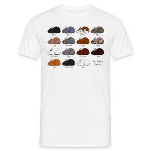 Rex Rabbit Colours - Men's T-Shirt