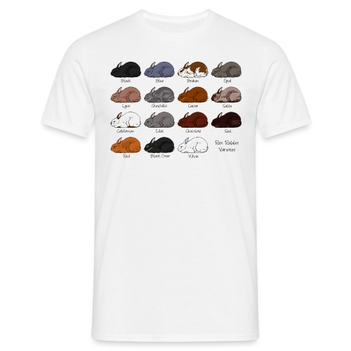 Rex Rabbit Colours - Men's T-Shirt