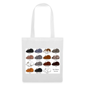 Rex Rabbit Colours - Tote Bag