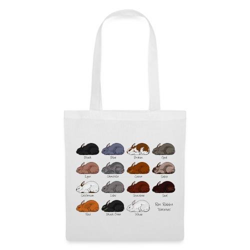 Rex Rabbit Colours - Tote Bag