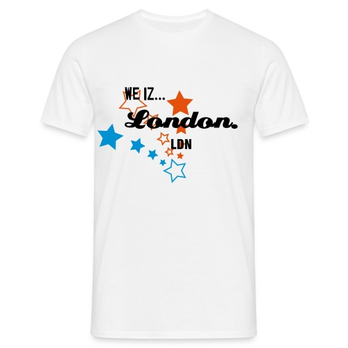 F11 we iz London range - Men's T-Shirt