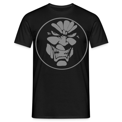 Deathchant Face Silver Sparkle - Men's T-Shirt