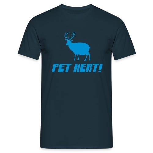 Fet Hert! - Men's T-Shirt