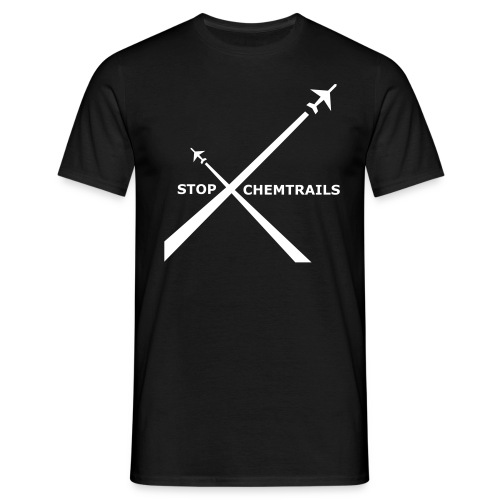 Stop Chemtrails -Unisex  Black - Camiseta hombre
