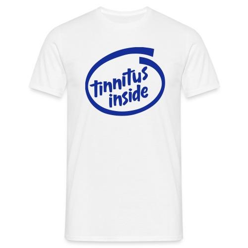 Tinnitus Inside - T-skjorte for menn