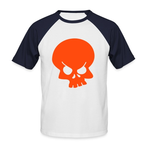 Skull - Mannen baseballshirt korte mouw