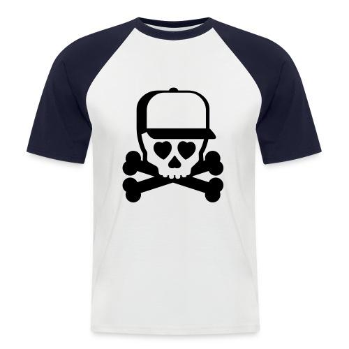 Skull cap - Mannen baseballshirt korte mouw