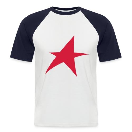 Star - Mannen baseballshirt korte mouw