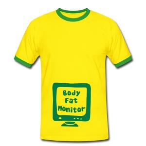 BodyFatMonitor - Men's Ringer Shirt