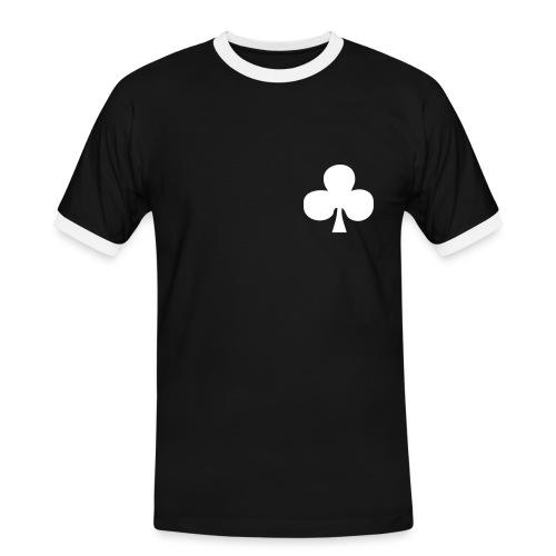 WHY? - Kontrast-T-shirt herr