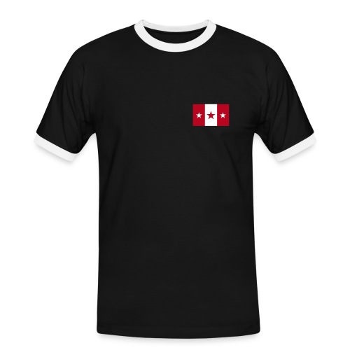 Star Flag T-Shirt - Männer Kontrast-T-Shirt