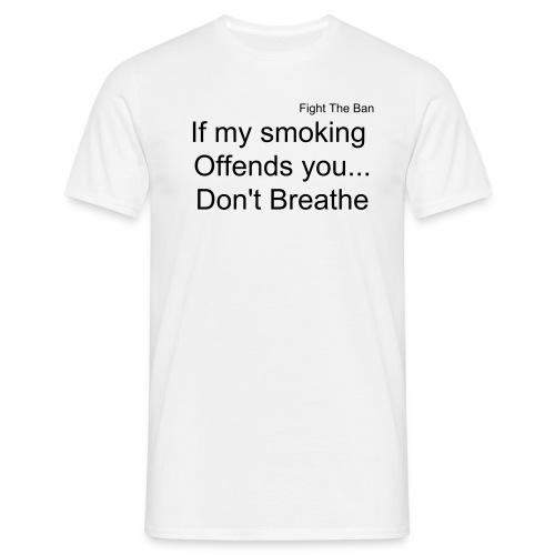 Don't breathe - Men's T-Shirt