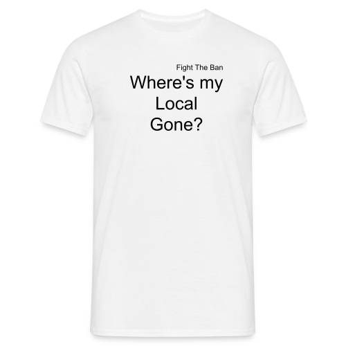 Local Gone - Men's T-Shirt