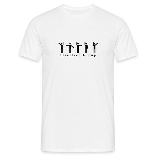 Interface Group white - Männer T-Shirt
