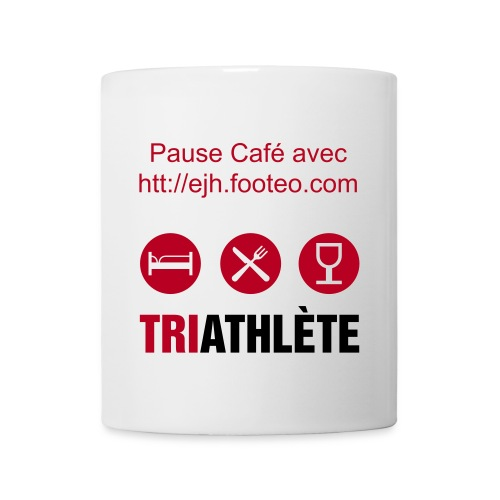 Tasse TRIATHLETE - Mug blanc