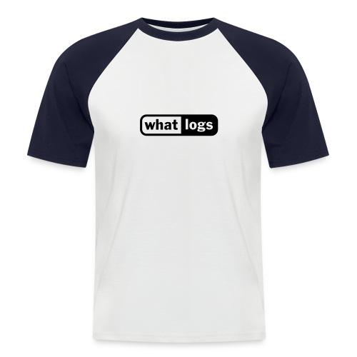 Logs - Männer Baseball-T-Shirt