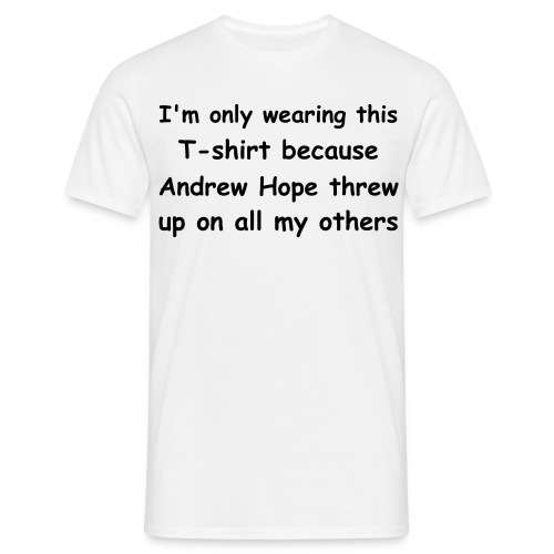 Andrew Hope - Men's T-Shirt