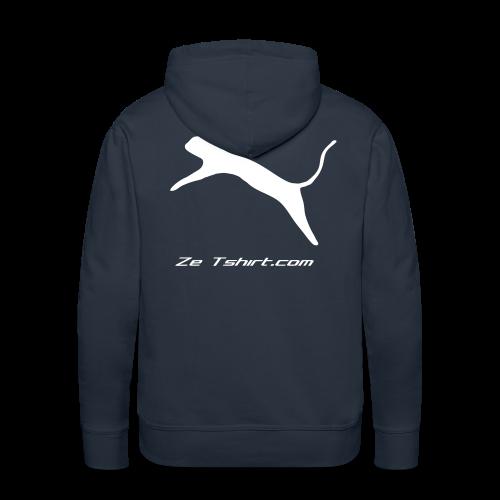 Sweat capuche Pticha Zetshirt - Sweat-shirt à capuche Premium pour hommes
