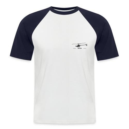 Heaven - Männer Baseball-T-Shirt