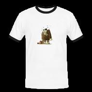 T-Shirts ~ Männer Kontrast-T-Shirt ~ Männer-T-Shirt