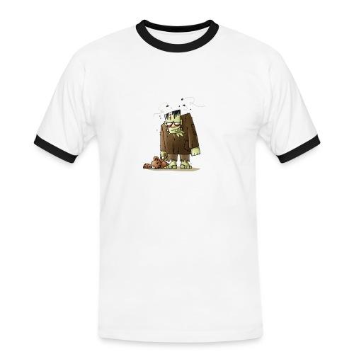 Männer-T-Shirt Monster - Männer Kontrast-T-Shirt
