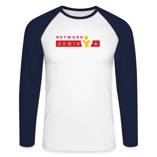 NetAdmin N/W Long - Men's Long Sleeve Baseball T-Shirt