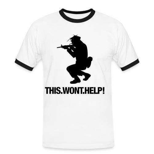 Camisa Ajustada Gamer Pro MLG - Camiseta contraste hombre