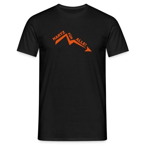 Hartz 4 all - Männer T-Shirt