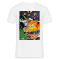T-Shirts ~ Men's T-Shirt ~ Obsession Strings of Life Flyer T-shirt