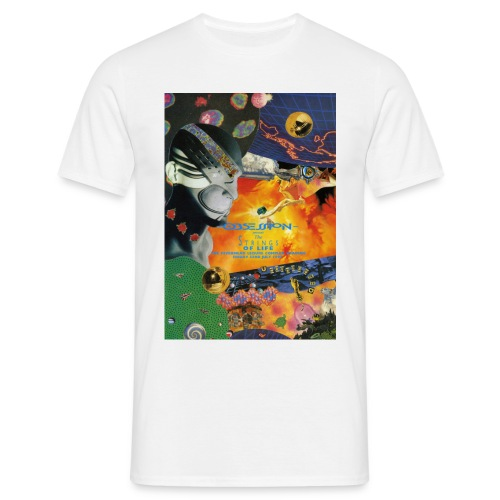Obsession Strings of Life Flyer T-shirt - Men's T-Shirt
