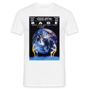 Obsession Rage Flyer T-shirt - Men's T-Shirt