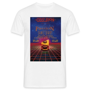 Obsession Passion Rave flyer t-shirt - Men's T-Shirt