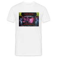 T-Shirts ~ Men's T-Shirt ~ Obsession Hyperspace Rave flyer t-shirt