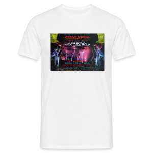 Obsession Hyperspace Rave flyer t-shirt - Men's T-Shirt