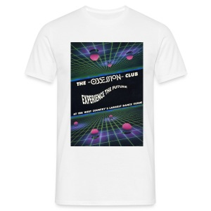Obsession Club Rave Flyer T-shirt - Men's T-Shirt