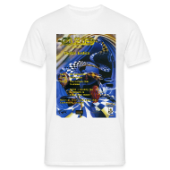 T-Shirts ~ Men's T-Shirt ~ Obsessed Digital Justice Rave Flyer T-shirt