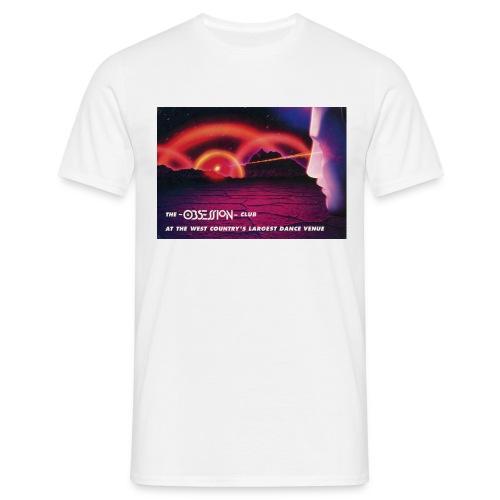 Obsession Rave Flyer T-shirt - Men's T-Shirt