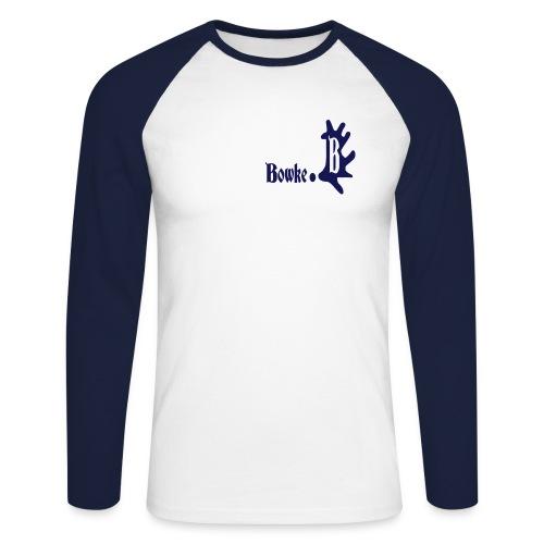 bowke - Männer Baseballshirt langarm