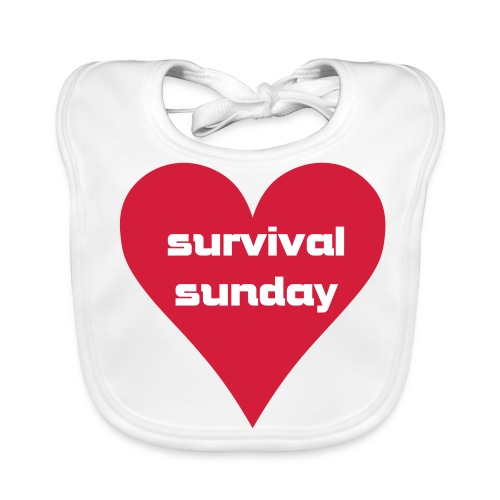 Survival Sunday - Baby Organic Bib
