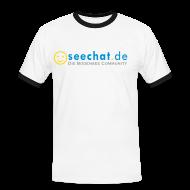 T-Shirts ~ Männer Kontrast-T-Shirt ~ Artikelnummer 6396164