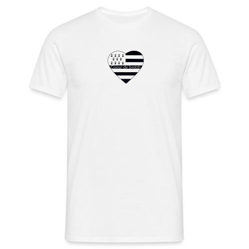 T-shirt Homme - BZH,breizh,bretagne,breton