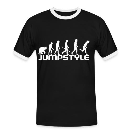 t-shirt jumpstile slim contrast b-t - T-shirt contrasté Homme