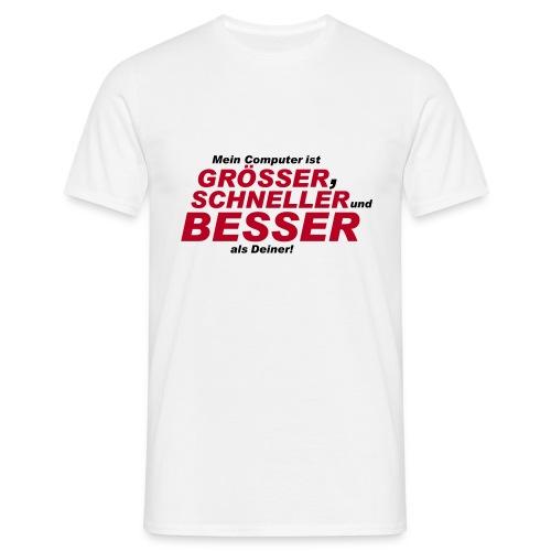 T-Shirt Mein Computer - Männer T-Shirt