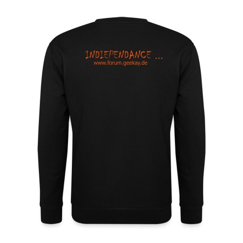 S-Shirt: Indiependance Back - Männer Pullover