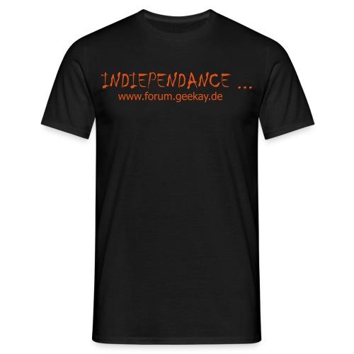 T-Shirt: Indiependance Front - Männer T-Shirt