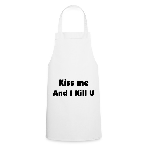 Novelty Kiss the chef Apron - Cooking Apron