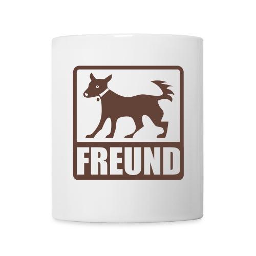 Tasse Hundefreund - Tasse