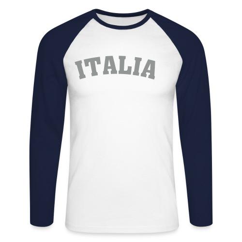 ITALIA - Männer Baseballshirt langarm