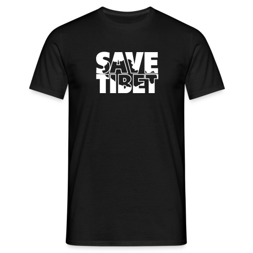 Free Tibet Border - Männer T-Shirt